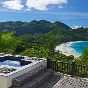 Banyan Tree Seychelles - Luxury Seychelles Honeymoon Packages - Sanctuary Ocean View Pool Villa exterior