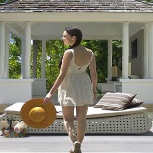 Banyan Tree Seychelles - Luxury Seychelles Honeymoon Packages - Spa Sanctuary Pool Villa exterior