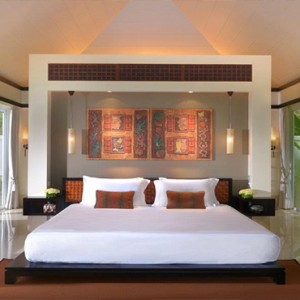 Banyan Tree Seychelles - Luxury Seychelles Honeymoon Packages - Spa Sanctuary Pool Villa interior