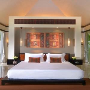 Banyan Tree Seychelles - Luxury Seychelles Honeymoon Packages - Spa Sanctuary Pool Villa interior