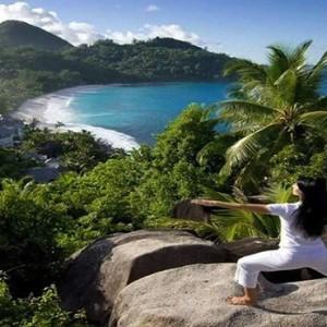 Banyan Tree Seychelles - Luxury Seychelles Honeymoon Packages - Yoga