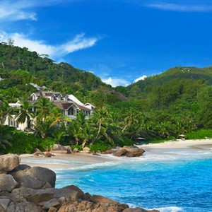 Banyan Tree Seychelles - Luxury Seychelles Honeymoon Packages - aerial view1