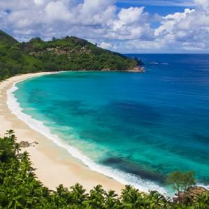 Banyan Tree Seychelles - Luxury Seychelles Honeymoon Packages - aerial view2