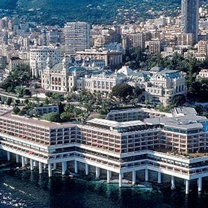 Fairmont Monte Carlo - ariel view