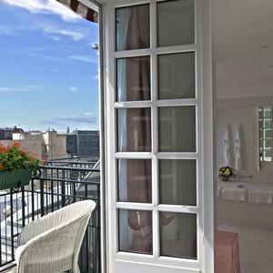 Hotel Le Bristol - view