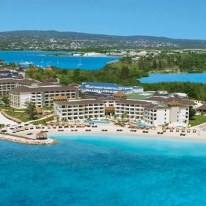 Jamaica Honeymoon Packages Secrets Wild Orchid Montego Bay Aerial View