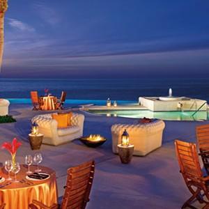 Secrets Marquis Los Cabos - terrace restaurant