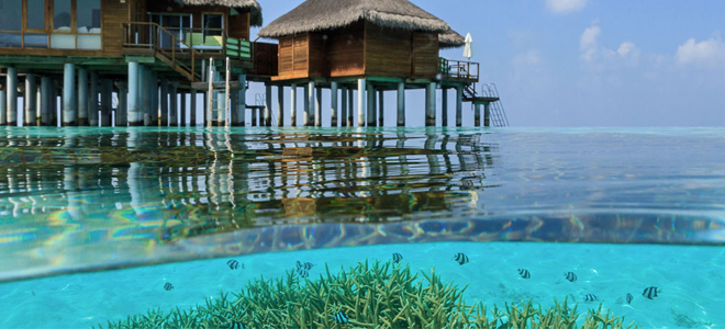 maafushivaru maldives - Water villa Exterior