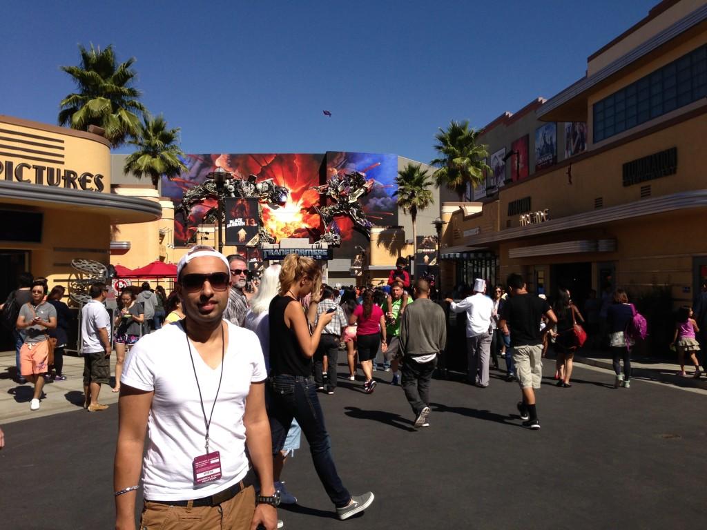 Lakh visit glamorous LA - LA Honeymoons