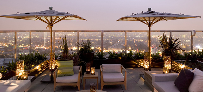 Andaz West Hollywood Rooftop Pool