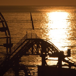 Loews Santa Monica Pier Sunset