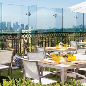 London West Hollywood Rooftop Dining