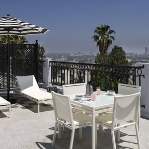 London West Hollywood Suite Balcony