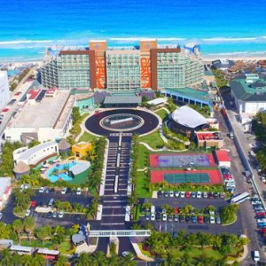 Mexico Honeymoon Packages Hard Rock Hotel Cancun Aerial View