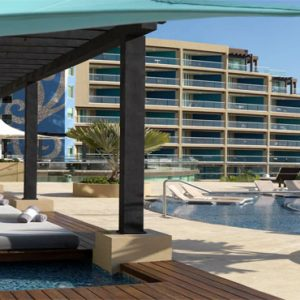 Mexico Honeymoon Packages Hard Rock Hotel Cancun Pool Sun Loungers