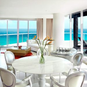 Mexico Honeymoon Packages Hard Rock Hotel Cancun Room Living Area