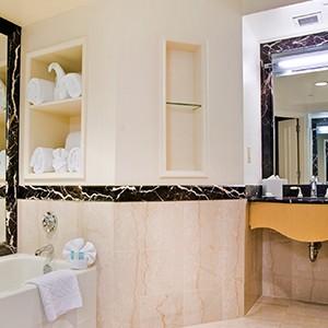 The Hilton Times Square Bathroom