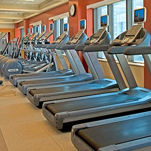 The Hilton Times Square Fitness Centre