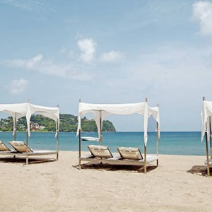 Beach at Rendezvous St Lucia (2)