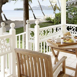 Beachfront Cottage At Rendezvous St Lucia