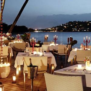 Terrace Restaurant Rendezvous St Lucia