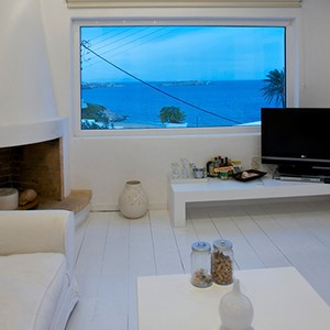 Bill & Coo Suites and Lounge Mykonos - Greece Honeymoon - bill and coo suite