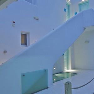 Bill & Coo Suites and Lounge Mykonos - Greece Honeymoon - deluxe Suite
