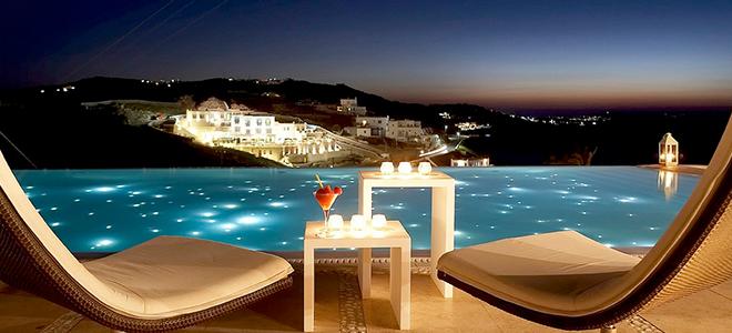 Honeymoon Destinations In Greece: Bill & Coo Suites And Lounge Mykonos, Greece Honeymoon