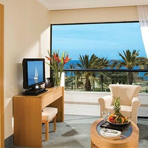 Constantinou Bros Asimina Suites - Cyprus Honeymoon Packages - bedroom