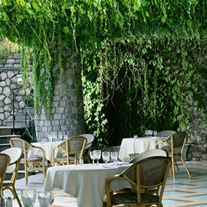 Grand Hotel Capodimonte - Italy Honymoon Packages - dining 2