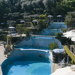 Grand Hotel Capodimonte - Italy Honymoon Packages - pools