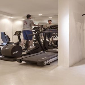 Greece Honeymoon Packages Canaves Oia Suites Gym