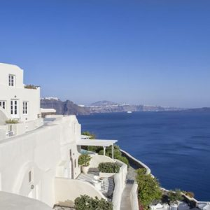 Greece Honeymoon Packages Canaves Oia Suites Hotel Exterior