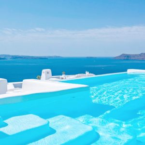 Greece Honeymoon Packages Canaves Oia Suites Infinity Pool1