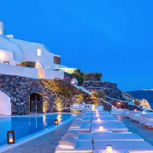 Greece Honeymoon Packages Canaves Oia Suites Infinity Pool3