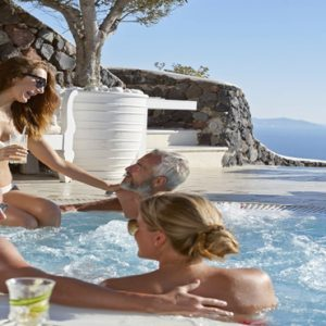 Greece Honeymoon Packages Canaves Oia Suites Jacuzzi