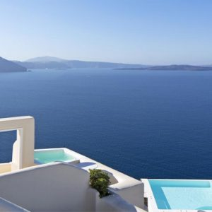 Greece Honeymoon Packages Canaves Oia Suites Sea And Pool Views
