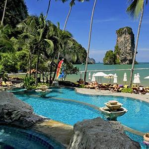 centara grand beach resort Krabi - Thailand honeymoon packages - pool