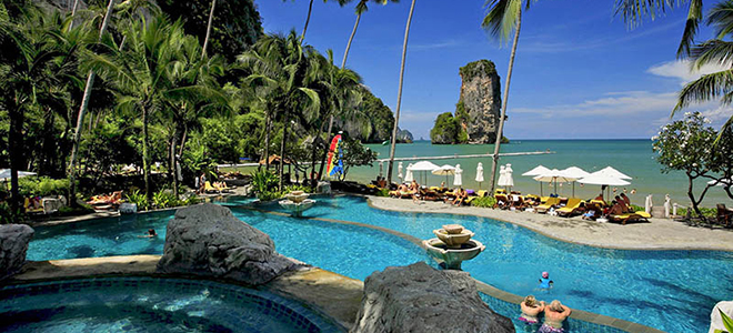 Centara Grand Beach Resort Krabi Thai Honeymoon