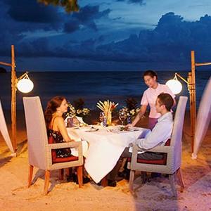 centara grand beach resort Krabi - Thailand honeymoon packages - private dining