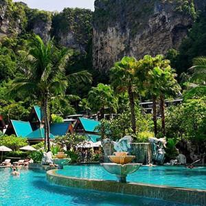 centara grand beach resort Krabi - Thailand honeymoon packages - swimming pool
