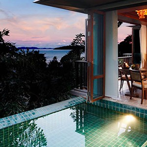 centara grand beach resort Krabi - Thailand honeymoon packages - villa