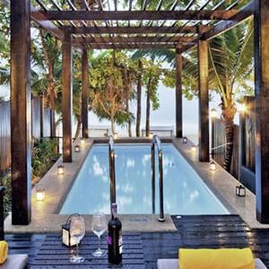 Andaman White Beach Resort, Phuket - Thailand Honeymoon - private pool