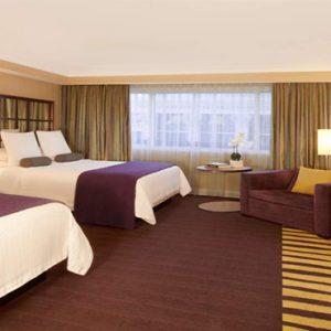 Caesars Palace Las Vegas honeymoon packages Forum Classic Room 2 Doubles (non Smoking)