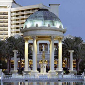 Caesars Palace Las Vegas honeymoon packages Fountain