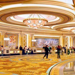 Caesars Palace Las Vegas honeymoon packages Lobby