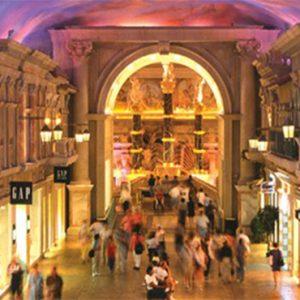 Caesars Palace Las Vegas honeymoon packages Shopping