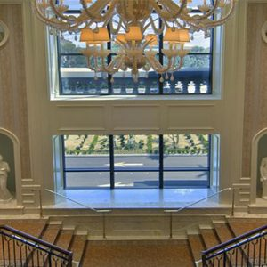 Caesars Palace Las Vegas honeymoon packages Staircase