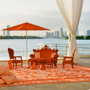 Miami Honeymoon Packages Mondrian South Beach Dining 6