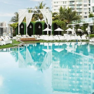 Miami Honeymoon Packages Mondrian South Beach Pool